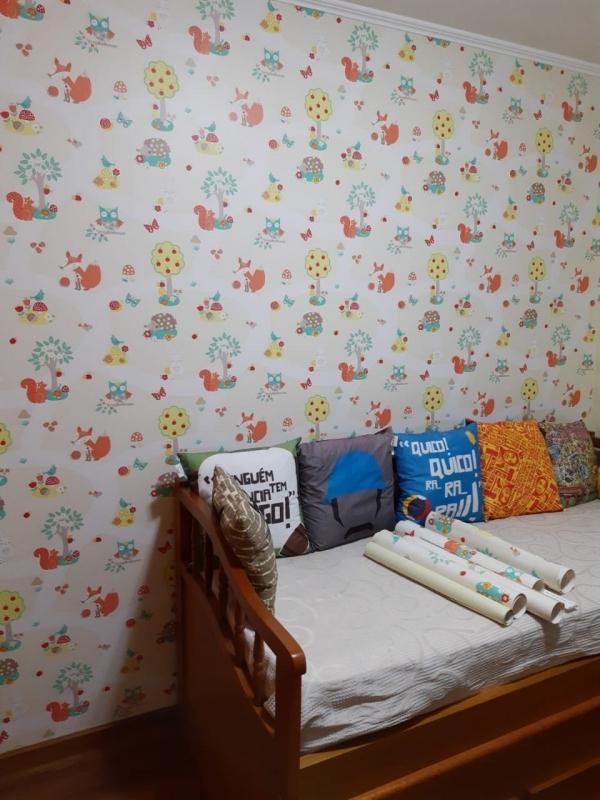 Comprar Papel de Parede Infantil Vila Romana - Papel de Parede Feminino