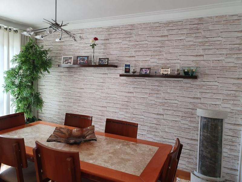Papéis de Parede para Sala de Jantar Lapa Alta - Papel de Parede para Sala com Tv