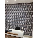 empresa de papel para parede de escritório Vila Romana