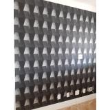 onde encontro papel de parede para quarto preto e branco Vila Comercial