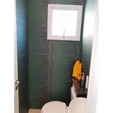 onde tem papel para parede de banheiro Jardim Libano