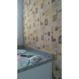 onde tem papel para parede de cozinha Vila chalot