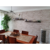 papéis de parede para sala de jantar Jardim Bonfiglioli