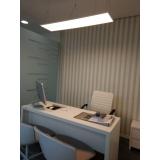 papel de parede para escritório Vila Anastácio