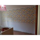 papel de parede para quarto colorido Jaraguá