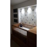 papel de parede para quarto de bebê preço Vila Anastácio