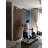 papel de parede para sala com tv valor Vila Leopoldina