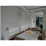 papel de parede para sala de apartamento valor Butantã