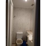 papel para parede de banheiro valores Pompéia