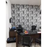 papel para parede de escritório valores Parque da Lapa