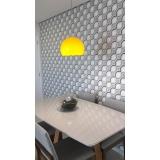 quanto custa papel de parede para sala de jantar Jardim Primavera