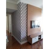 quanto custa papel de parede para sala de tv alto da providencia