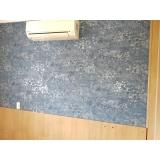 quanto custa papel de parede para sala pequena Caiubi